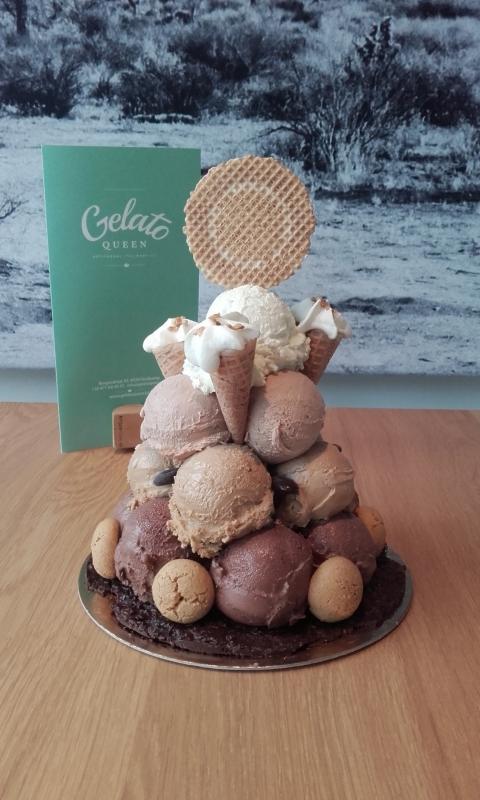 Gelato Queen - cake toren