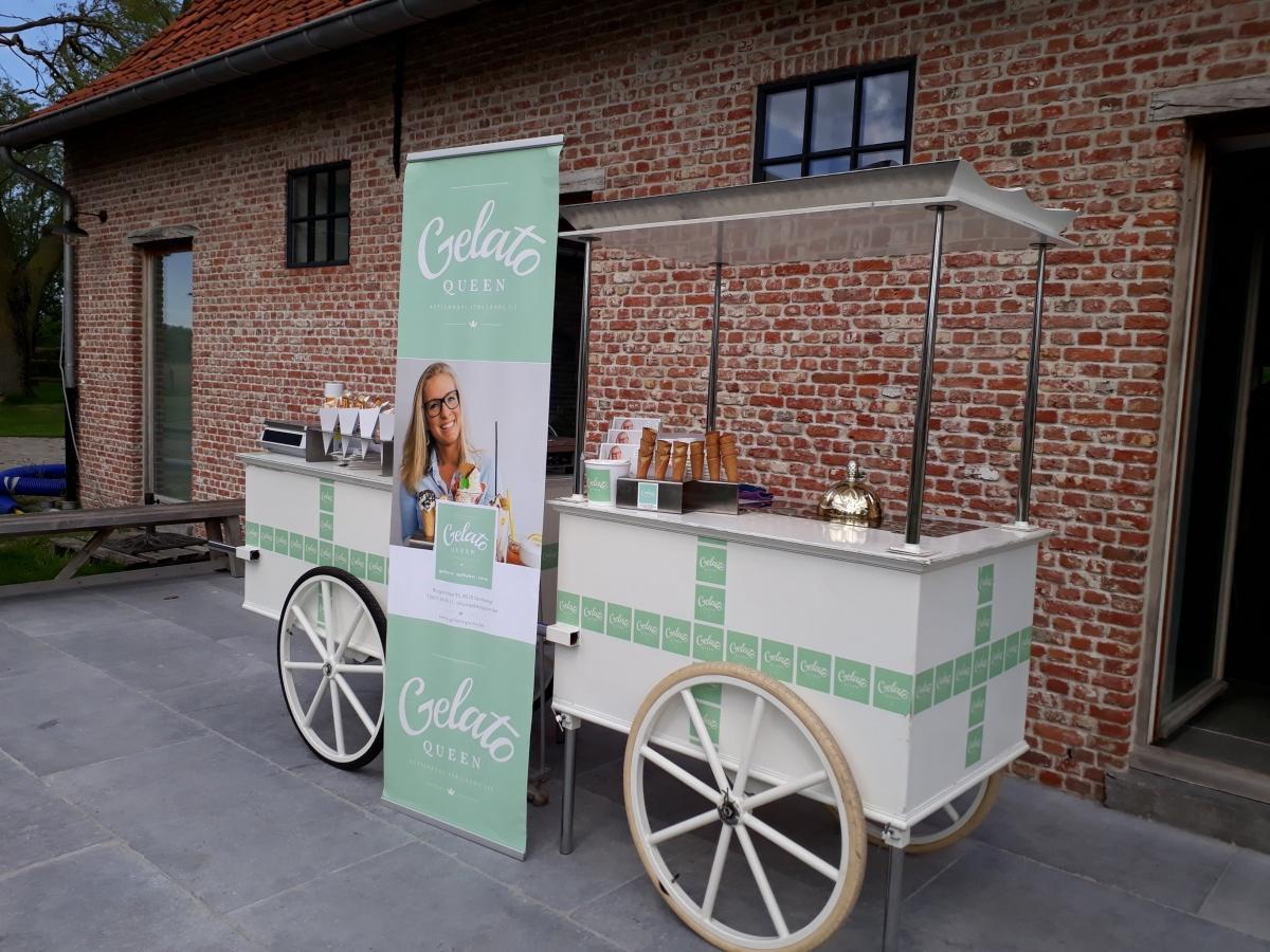 Gelato Queen cart