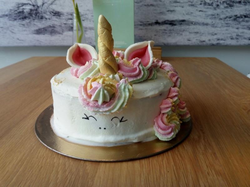 Gelato Queen unicorn taart