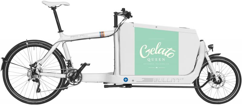 Gelato Queen foodbike